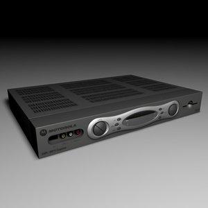 motorola video recorder 3d model