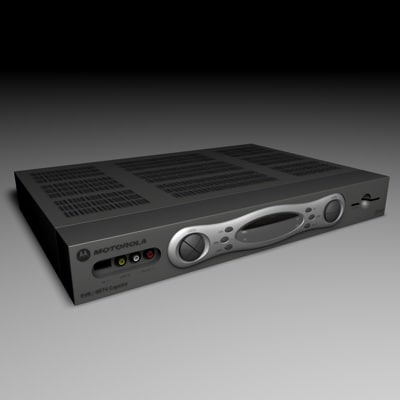 motorola video recorder 3d model