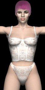 sveta cloth 3d model