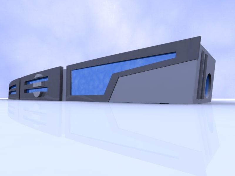 3dsmax building modern shapes
