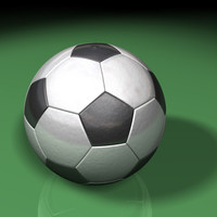 3ds max soccerball traditional
