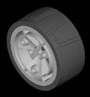 3d model wiel