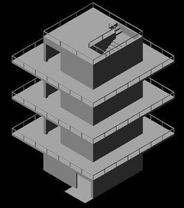 d tower model
