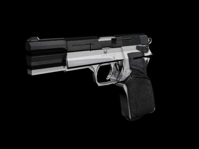 browning 3d model