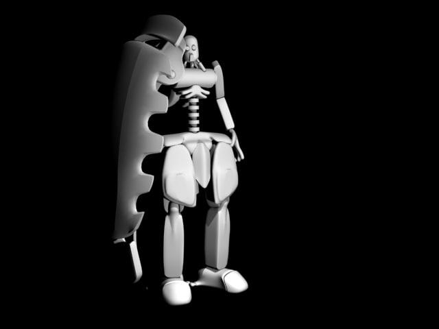 3d model bot
