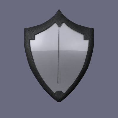 shield armor 3d model