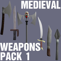 Medieval Weapons Pack 1