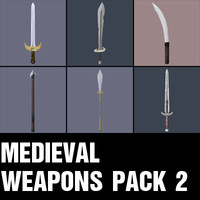 Medieval Weapons Pack 2