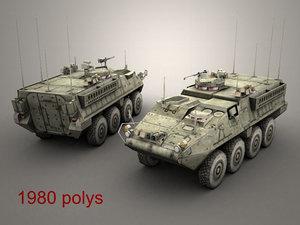 army stryker fsv max