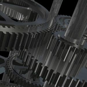 cinema4d gears cogs