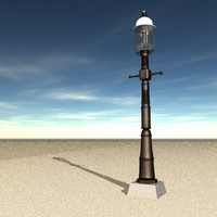 3d 3ds street light gas