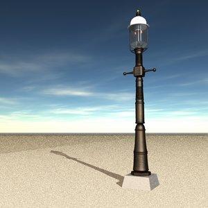 3d 3ds street light gas