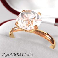 diamond ring c4d