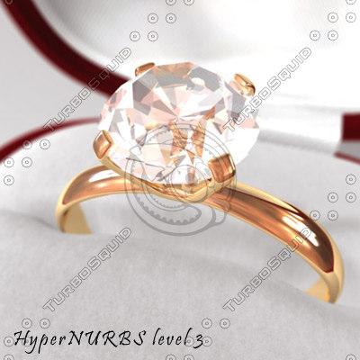 diamond ring c4d