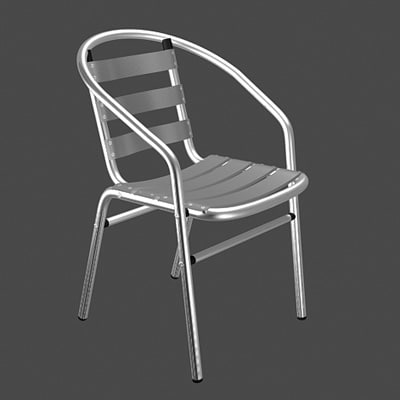 max office aluminium chair
