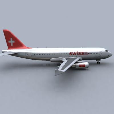 3ds airbus a320 swiss