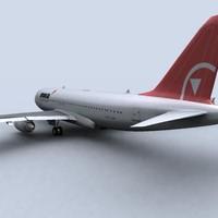 Airbus A320 nwa.zip