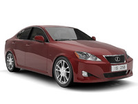 3ds max lexus is250 250