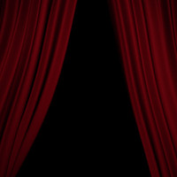 curtains gobo 3d model