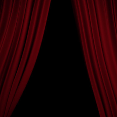 curtains gobo 3d model