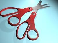 free scissor 3d model