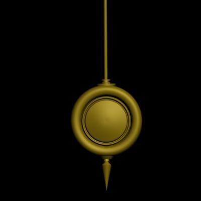 trigger pendulum 3d max