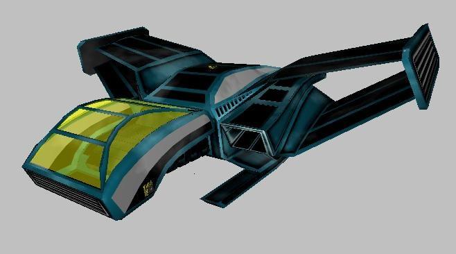 free ship freelancer 3d model