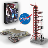 nasa crawler transporter saturn v 3d model