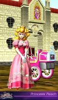 Princess Peach Version Super Smash  Bros Melee