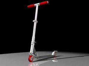 razor scooter 3d model