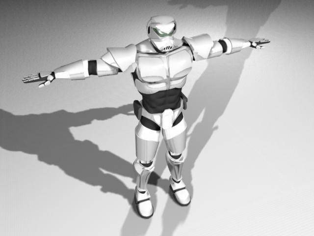 halo battle armor 3d model