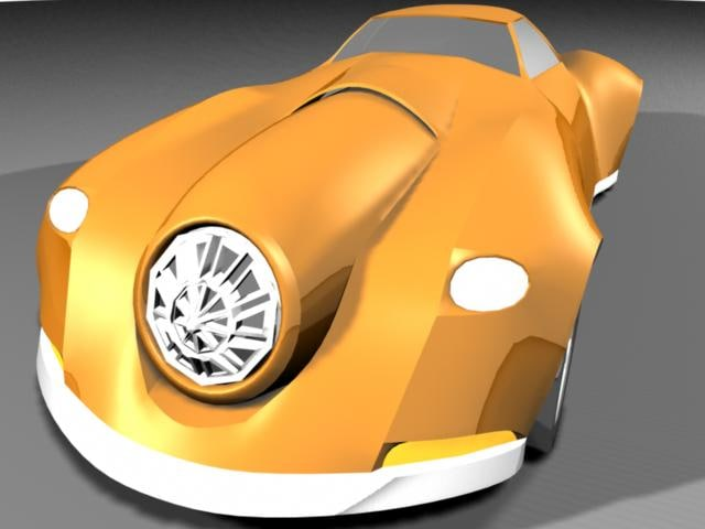 3ds max monster car muscle