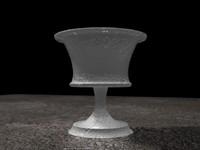 3d model goblet medival