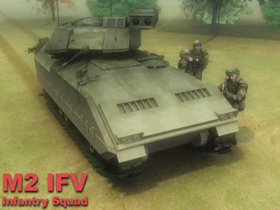3d infantry ifv military model