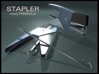 office stapler 3d model