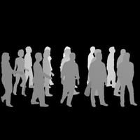 3dsmax architectural random people