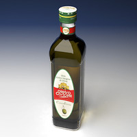Bottle of olive oil
