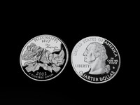 3d model mississippi quarter
