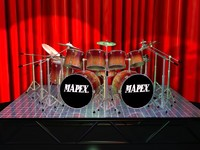 3d twisted drum sets