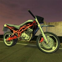 sachs x-road motorcycle 3d model