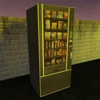 food vending machine 3d x