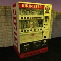 3d beer vending machine