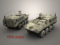 3d openflight army stryker model