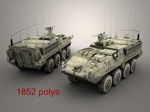 3d openflight army stryker model