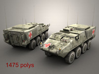 3d model openflight stryker mev