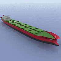Oil Tanker Ship