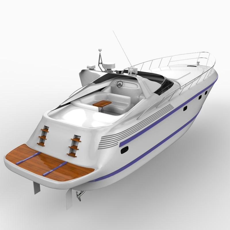 3d sarnico 58 open yacht