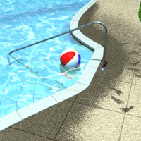 3D Swimming Pool Model