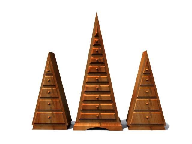 3d drawer cabinet model