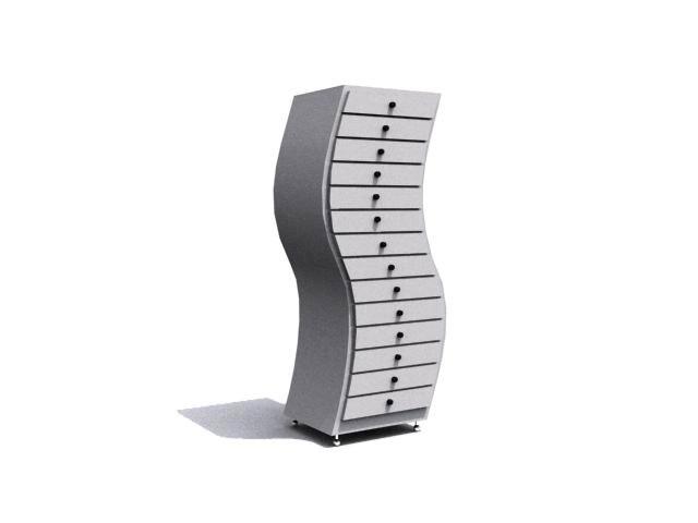 3d drawer cabinet